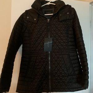 Andrew Mark Black Winter Coat